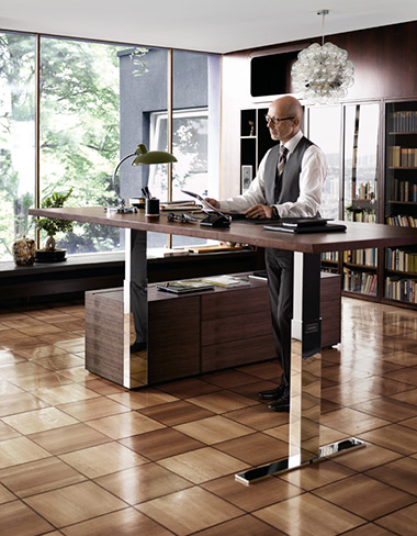 walter knoll exec v schreibtisch ausstellungsst ck 30. Black Bedroom Furniture Sets. Home Design Ideas