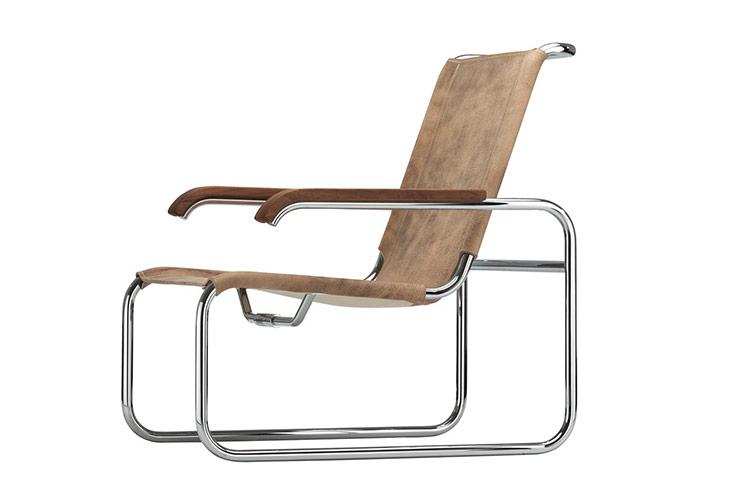 Designklassiker Sessel thonet s 35 l sessel mit armlehne sofort lieferbar krejon